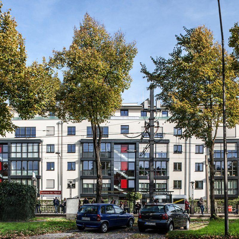 Außenansicht Immobilie Stadtwaldgürtel Köln
