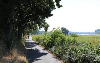 Ein Radweg durch die Groov