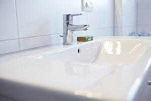 Detailansicht Waschbecken