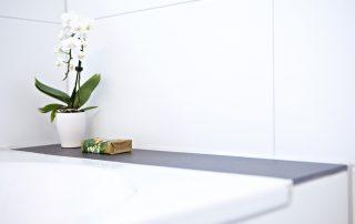 Detailansicht Badewanne