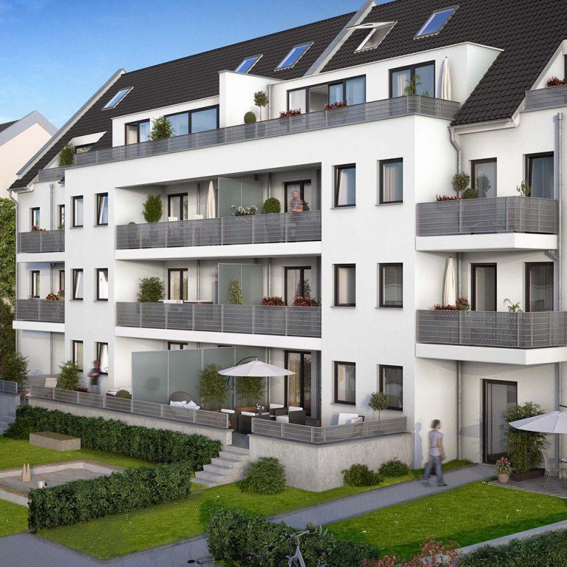 Außenansicht Immobilie Hitzlerstraße Köln