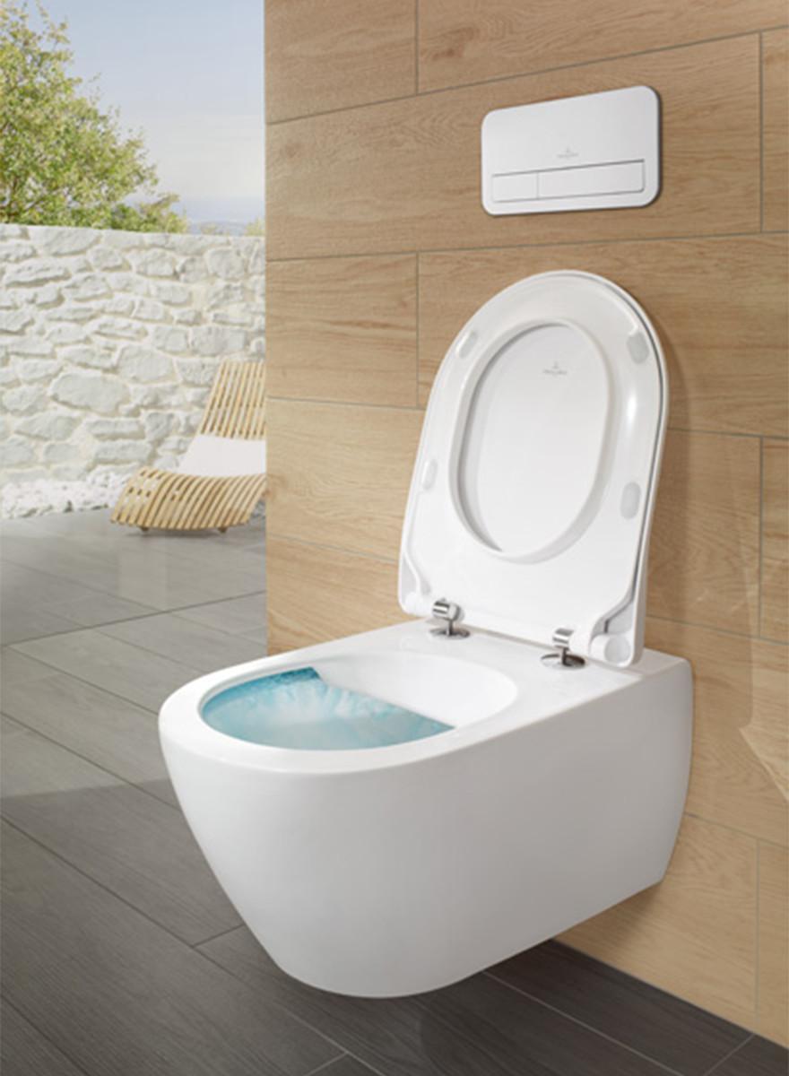 Symbolfoto eines WCs